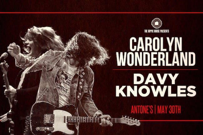 Carolyn Wonderland and Davy Knowles