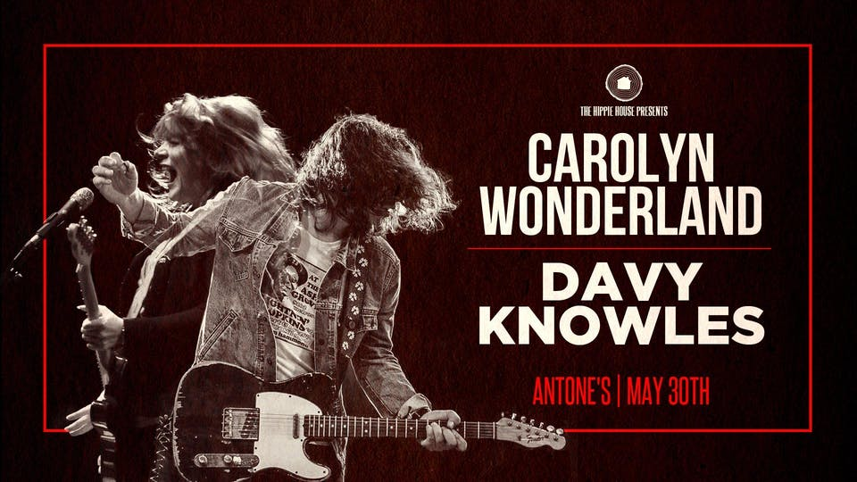 Carolyn Wonderland and Davy Knowles
