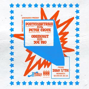 Make It Funky & Monarch Present: Pontchartain B2B Peter Croce