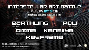 Interstellar Art Battle featuring Earthling
