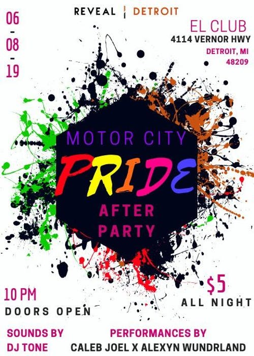 Motor City Pride After Party