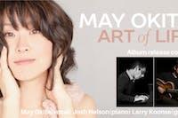 """May Okita """"Art of Life"""" CD Release"""