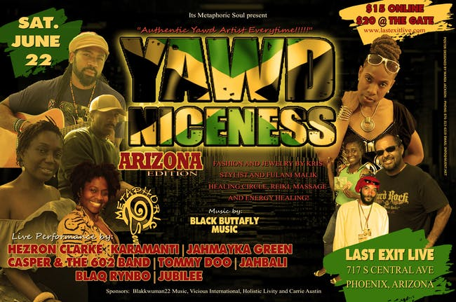 YAWD NICENESS - Arizona Edition