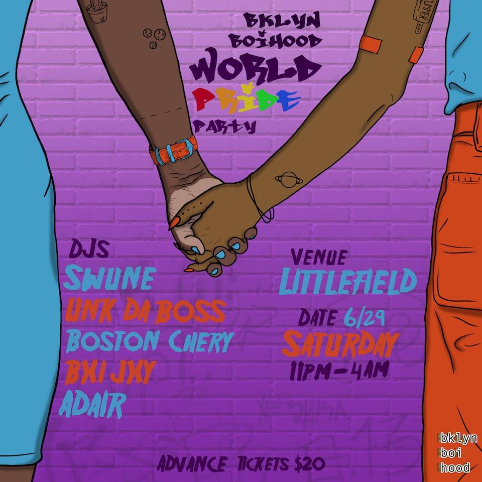 bklyn boihood World Pride Party
