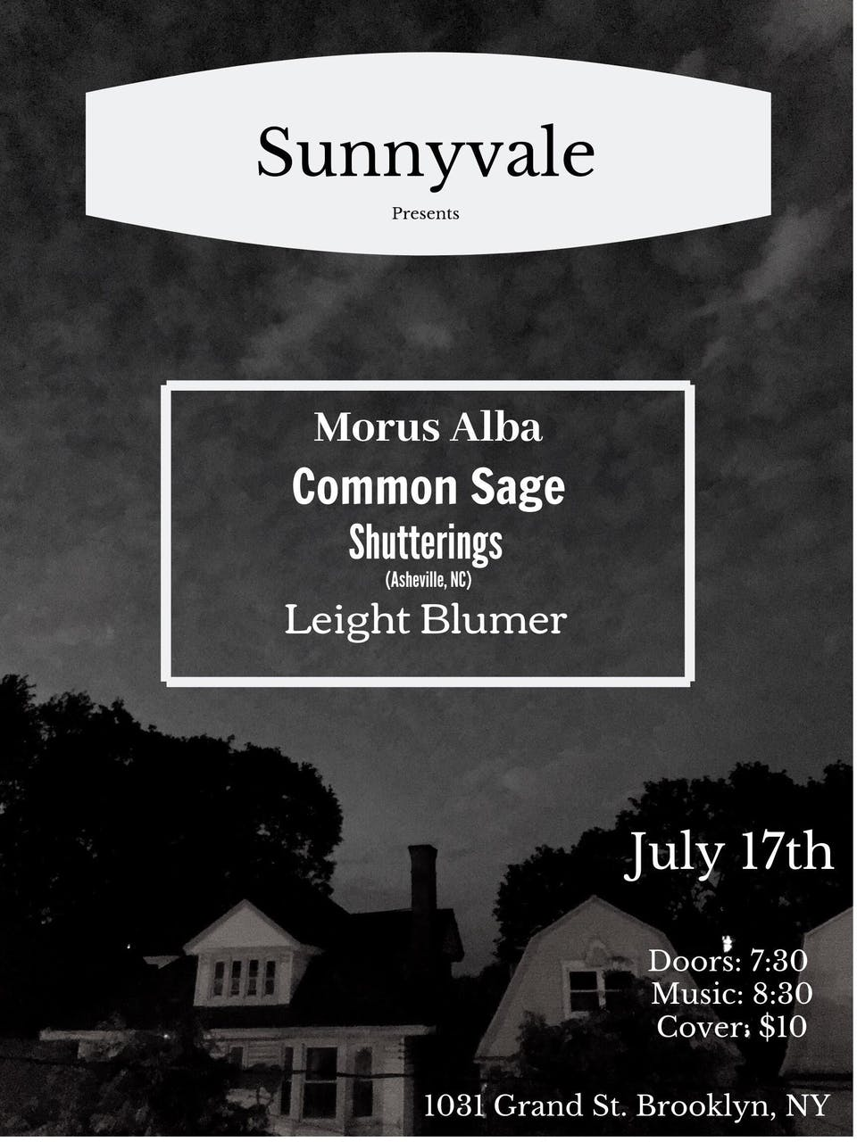 Morus Alba, Common Sage, Shutterings, Leight Blumer