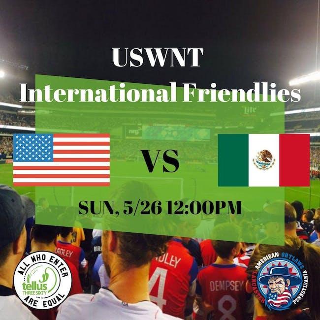 Womens Soccer USA Mexico