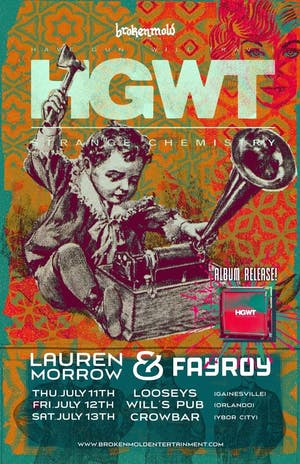 Have Gun Will Travel Album Release with Lauren Morrow & FayRoy