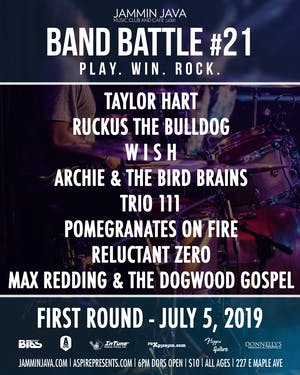 Jammin Java's Mid-Atlantic Band Battle #21 - Night 1