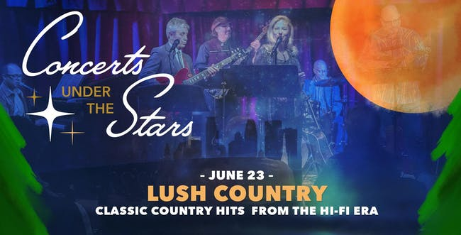 Lush Country Under The Stars