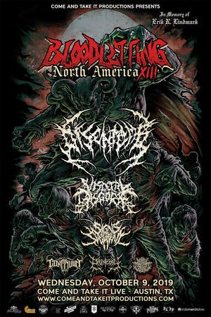 BLOODLETTING NORTH AMERICA XIII