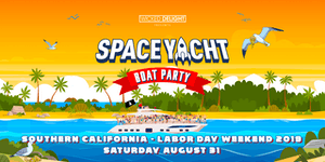 Space Yacht Boat Party Labor Day Weekend 2019