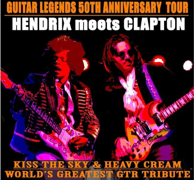 Guitar Legends: Hendrix Meets Clapton