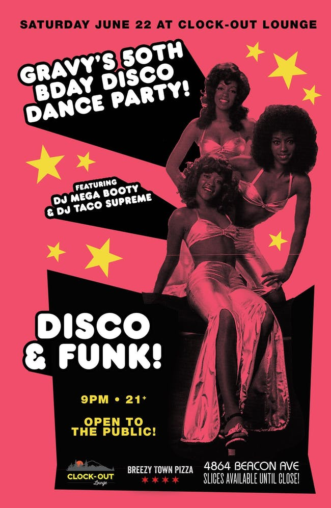 Gravy's 50th Birthday: Disco Dance Party