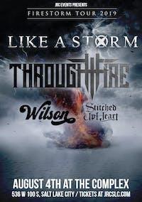Like A Storm / Through Fire