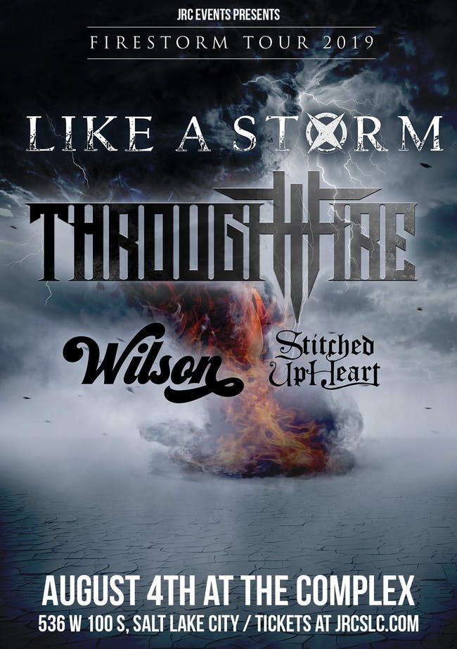 Like A Storm / Through Fire