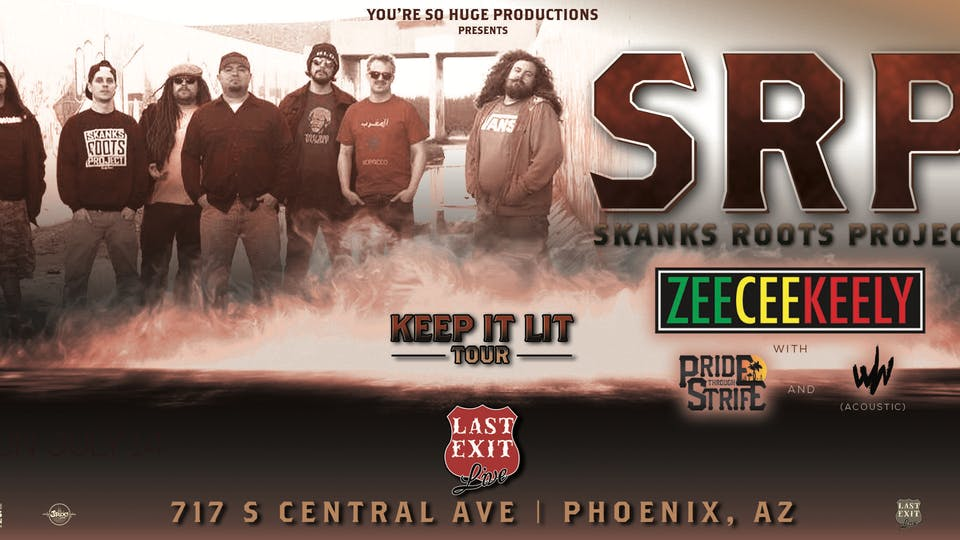 Skanks Roots Project + ZeeCeeKeely + PTS + Why Worry