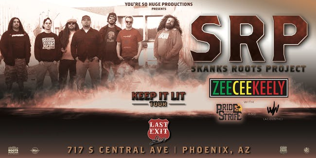 Skanks Roots Project + ZeeCeeKeely + PTS + Why Wor