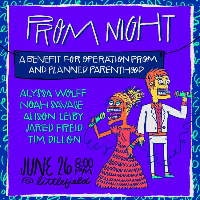 Prom Night: A Stand Up Comedy Benefit Show