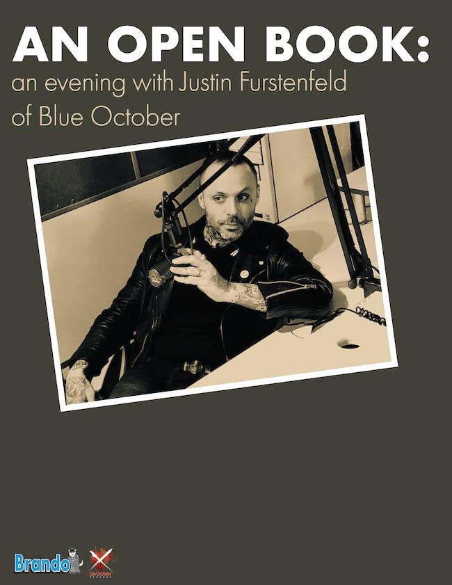 An Open Book: An Evening With Justin Furstenfeld Of Blue October