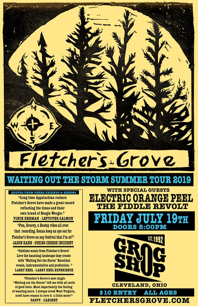 Fletchers Grove / Electric Orange Peel / The Fiddle Revolt