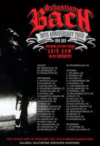 """Sebastian Bach """"30th Anniversary Tour"""""""