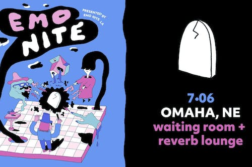 Emo Nite LA Presents: Emo Nite Omaha at The Waiting Room & Reverb Lounge