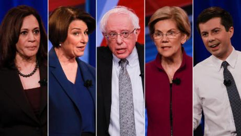 First Democratic Presidential Debate Watch Party: Day 1!