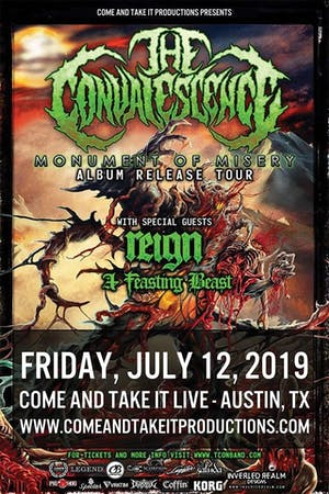 THE CONVALESCENCE: 'Monument of Misery' Album Release Tour