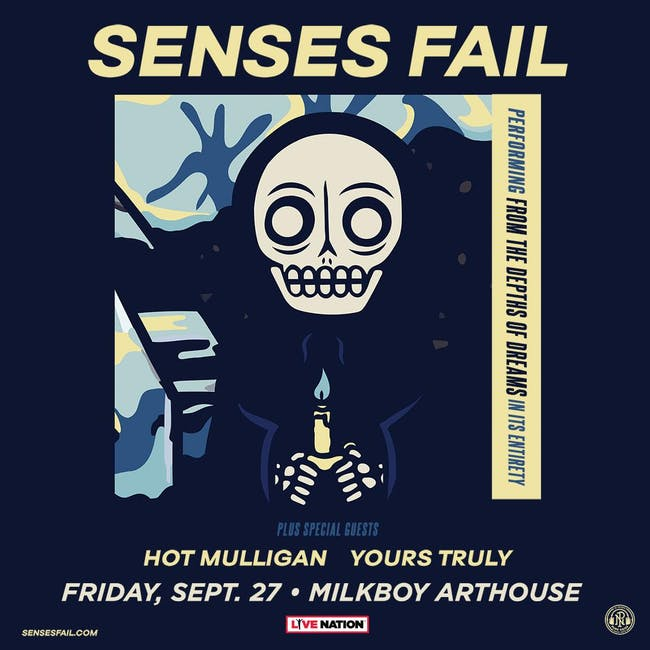 Senses Fail w/ Hot Mulligan and Yours Truly