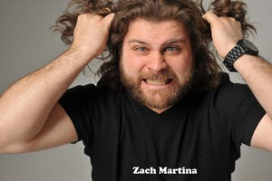 SUNDAY AUGUST 11: ZACH MARTINA