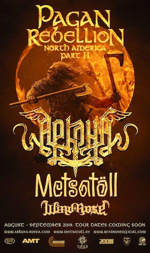 ARKONA with Metsatöll, Wind Rose & Mongol