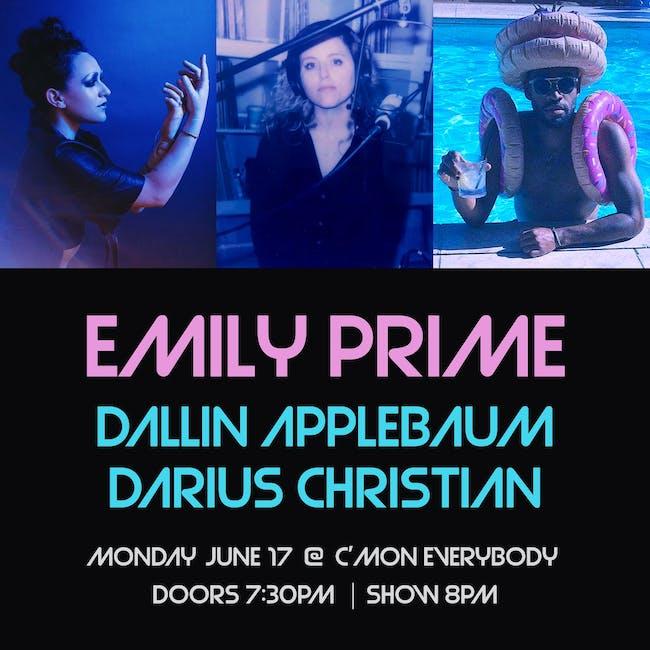 Emily Prime, Dallin Applebaum, Darius Christian