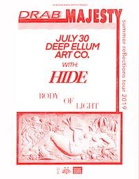 DRAB MAJESTY • HIDE • Body of Light