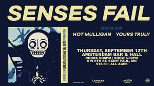 Senses Fail - Amsterdam Bar & Hall