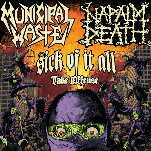 Municipal Waste & Napalm Death @ Mohawk