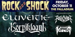 ROCK AND SHOCK 2019 Feat. ELUVEITIE & KORPIKLAANI