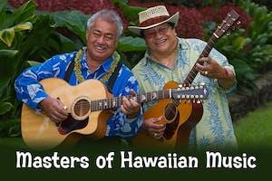 Masters Of Hawaiian Music: George Kahumoku Jr, Led Kaapana, Kawika Kahiapo
