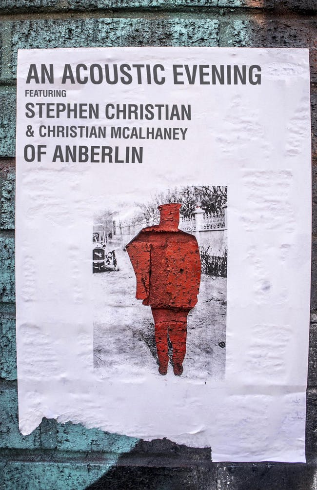 An Acoustic Evening w/Stephen Christian & Christian McAlhaney of Anberlin
