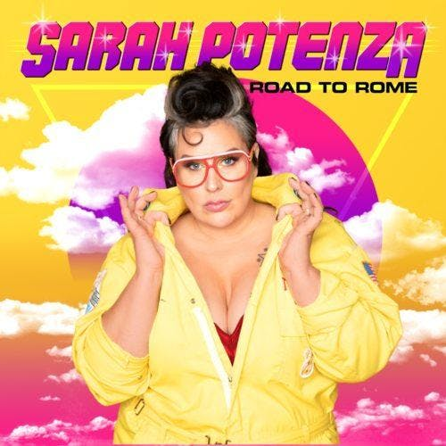 Sarah Potenza in the Gospel Lounge