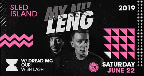 Sled Island After Party w/ My Nu Leng, Dread MC + Ouri – Tickets
