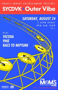 SYCDVK & Outer Vibe w/ Vicoda // Race To Neptune // PHIE