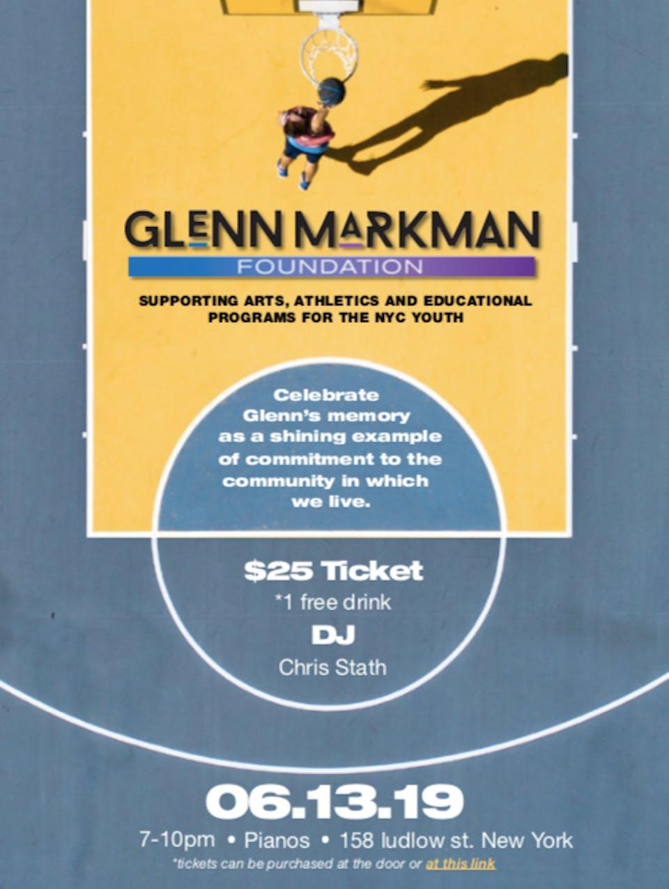 The Glenn Markman Foundation, #THEDANCEPARTY Ft. Taela Naomi (FREE)