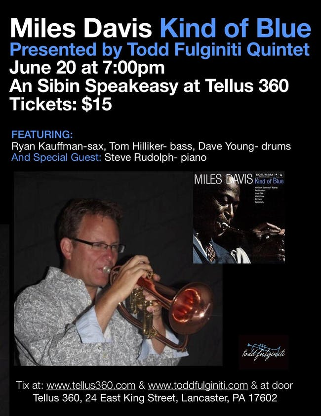 Miles Davis Kind Of Blue w/ Todd Fulginiti Quintet
