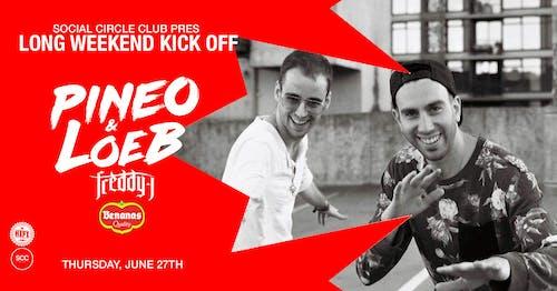 SCC Thursdays: Pineo & Loeb w/ Freddy J + Benanas