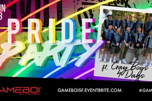 GAMEBOI SF Pride Party!