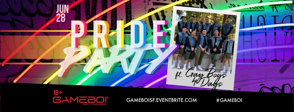 GAMEBOI SF Pride Party!