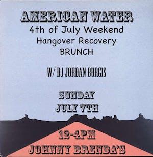 American Water with DJ Jordan Burgis