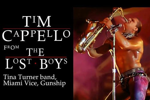 The Lost Boys Night • 80s Dance Party Feat. Tim Cappello