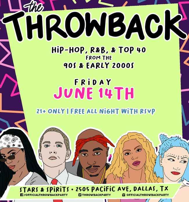 The Throwback Party at Stars & Spirits
