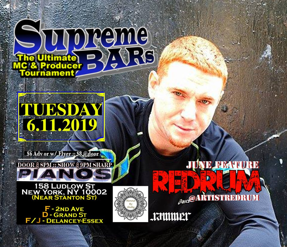 Supreme BARs: Ultimate MC & Producer Tournament, OLD_SPORT, Detective Logan